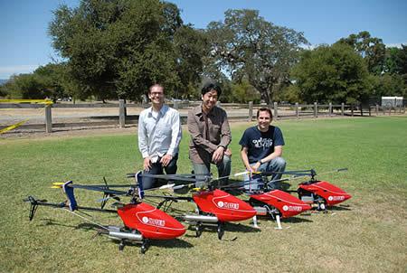 Inteligencia artificial en helicópteros - Imagen de Stanford News