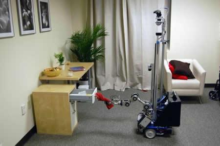 Robot para ayudar discapacitados - Imagen de Georgia Tech