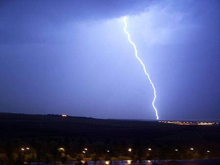 Tormenta en España - Imagen de la Wikipedia