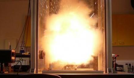 Termómetro resistente a explosiones - Imagen de Science Daily