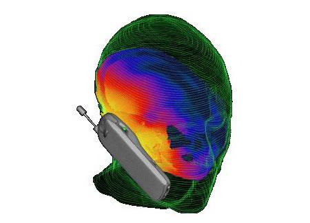 Radiación producida en la cabeza del usuario de telefonía móvil - Imagen de mix.fresqui.com