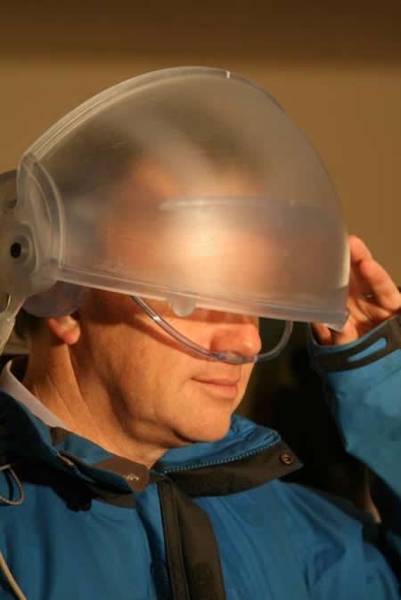Primer casco de realidad virtual que permitirá al usuario usar sus cinco sentidos en la virtualidad - Imagen de Engineering and Physical Sciences Research Council