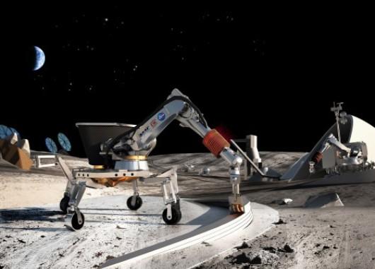 Los robots usarán el CC para hacer habitable la Luna