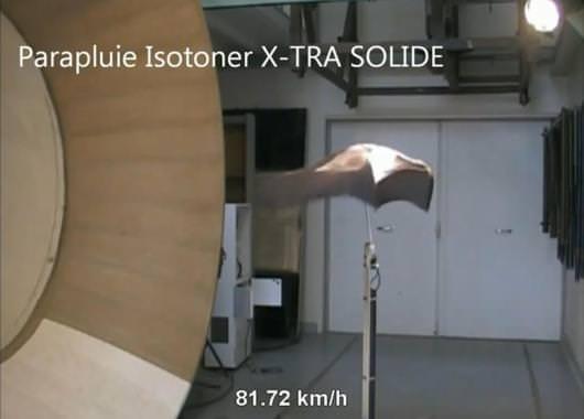 Xtra-Solid soportando vientos de 80 km/h