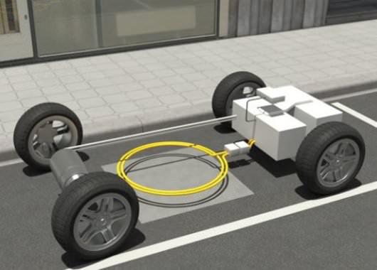 Recarga de autos eléctricos por inducción