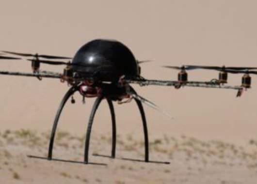Aracnocóptero presenta buenas capacidades