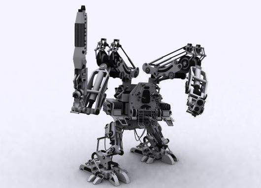 Robots bélicos ¿para proteger o destruinos?