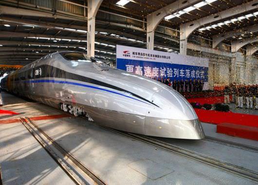 Nuevo tren chino superápido