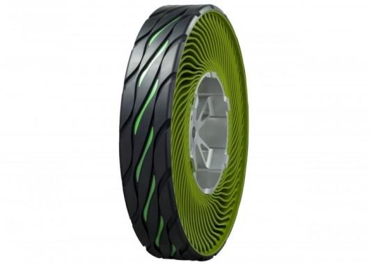 Nuevo neumático sin aire de Bridgestone