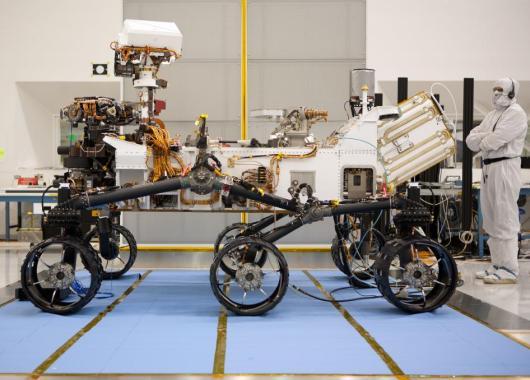 Curiosity explorará Marte aprovechando la energía solar