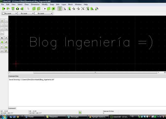 LibreCAD, gran opción para empezar con CAD