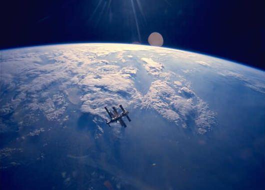 La atmósfera es lo que nos protege del espacio exterior
