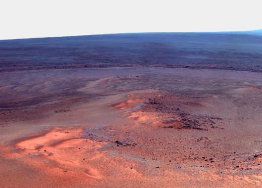 Opportunity pasará aquí su quinto invierno marciano