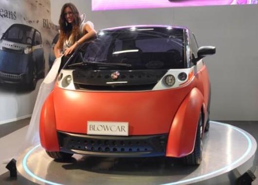 """Blow Car, auto con """"carrocería de aire"""""""