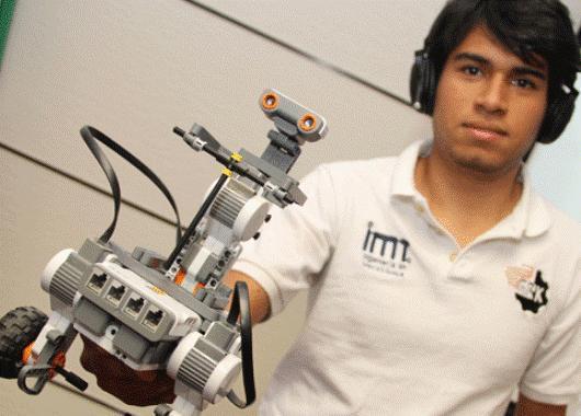 El estudiante y el robot