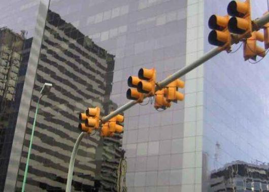 Semáforos en la ciudad