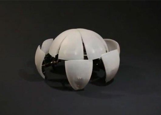 MorpHex, robot esfera/cangrejo