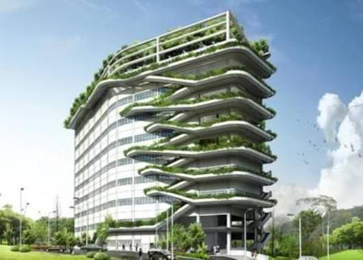 """Concepto de edificio """"cero emisiones"""""""