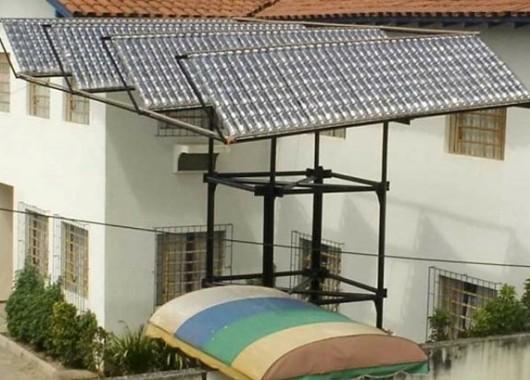Calentador solar económico