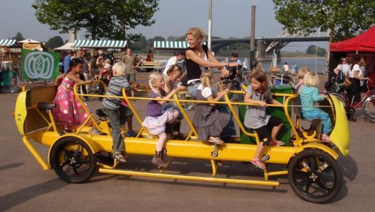 Ecobus-bici con niños