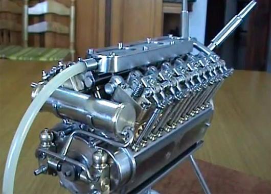 Motor más pequeño del mundo