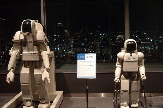 Modelos del robot Asimo