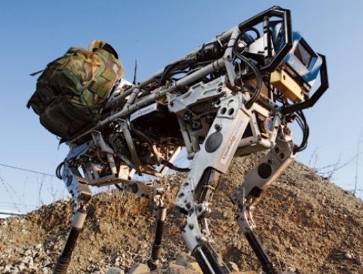 BigDog de DARPA