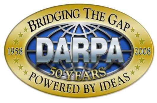 DARPA logotipo 50 años