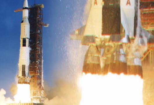 Lanzamiento cohete Saturn