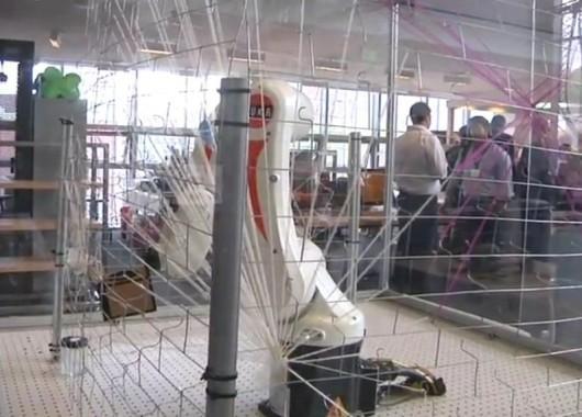 Robot tejedor del MIT