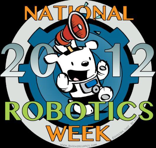 National Robotics Week logotipo
