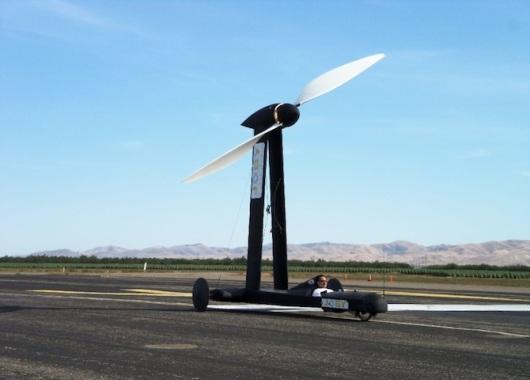 Blackbird contra el viento