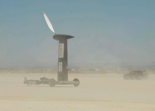 Blackbird en el desierto