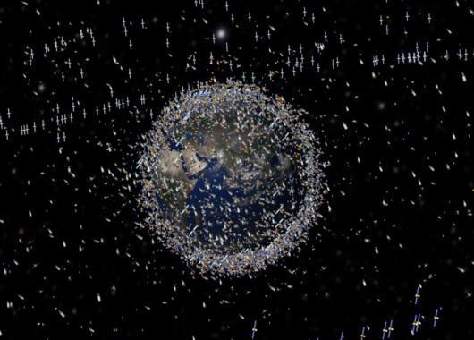 Satélites que orbitan la Tierra