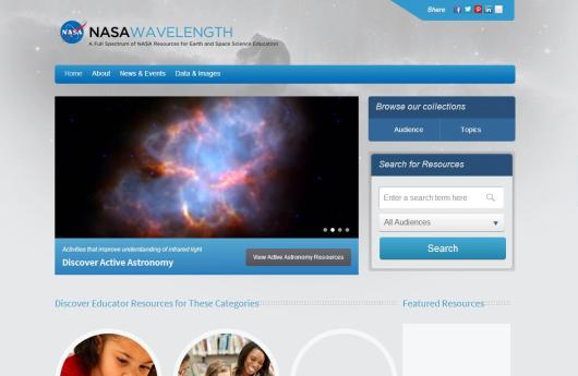 NASA Wavelenght