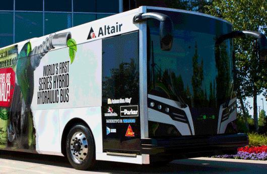 Autobús híbrido hidraúlico