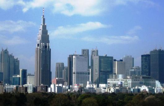 Rascacielosen Japón