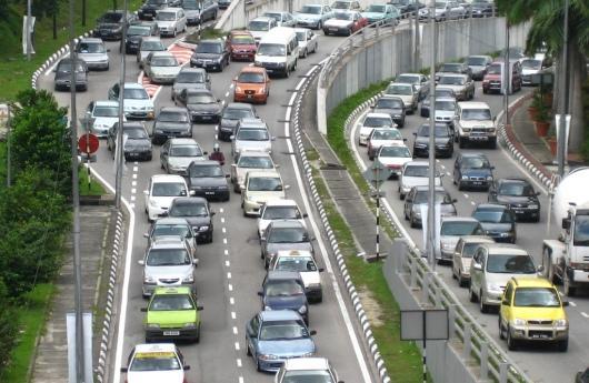 Congestionamiento vial