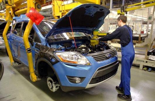 Líneas de producción de Ford