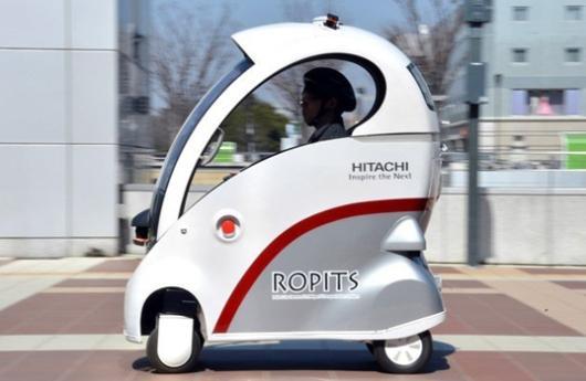 Vehículo autónomo ROPITS