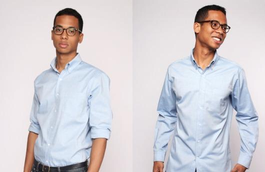 Novedosa camisa