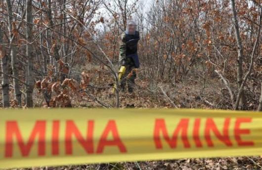 Localizar minas antipersonas