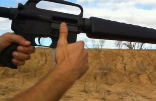 Arma impresa en 3D