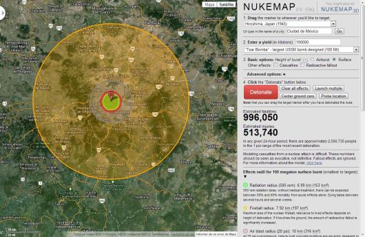 Bomba nuclear México