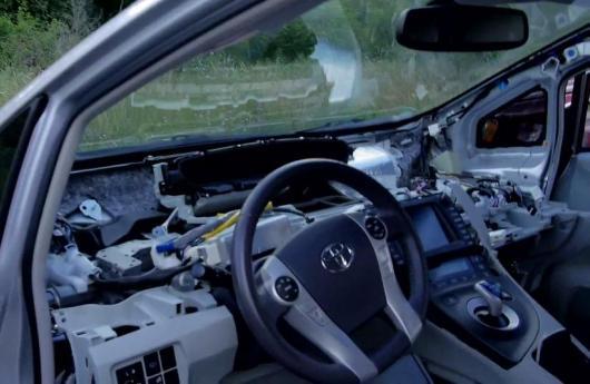 Toyota Prius hackeado