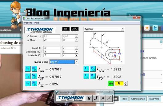 Barra de herramientas para ingenieros