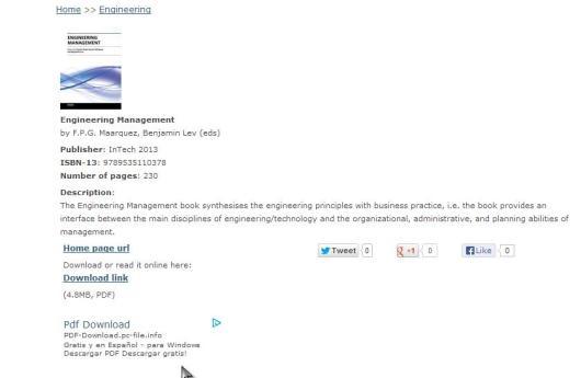 Ebooks de ingeniería gratis