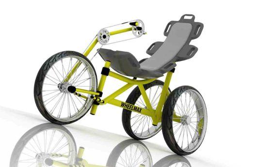 Diseño industrial de triciclo