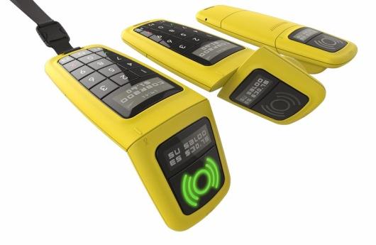 Diseño industrial de celular