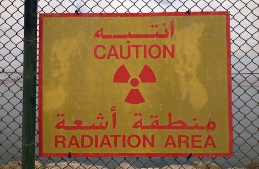 Área de radiación